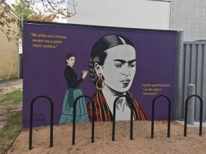 Frida – done by Sylvia Roman #donkeemom